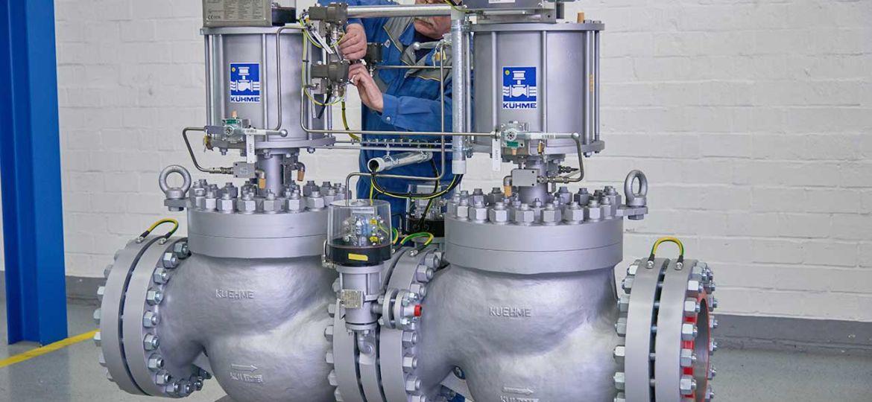 Kuehme-Armaturen-GmbH-Bochum-Kraft-Waerme-Kopplung-mit-Schnellschlussventilen