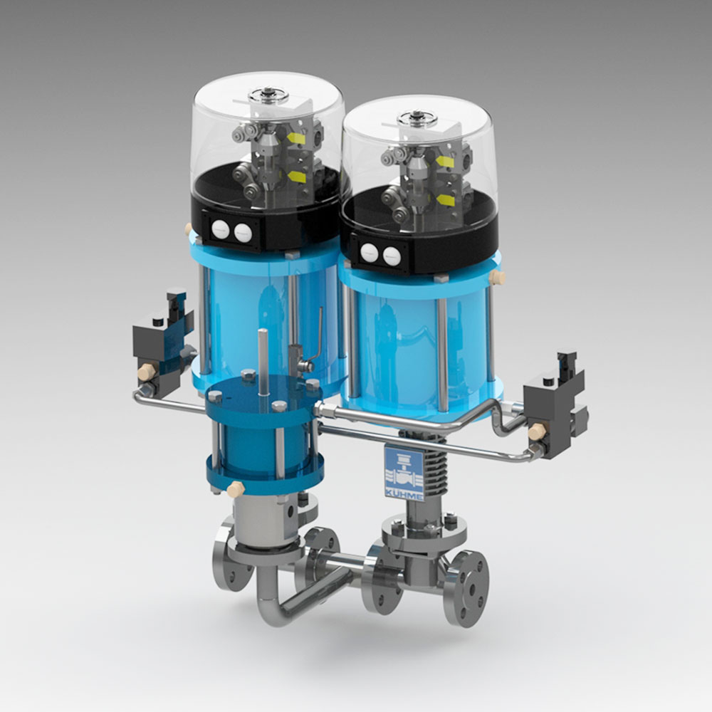 Ventilkombination für gasförmige Medien