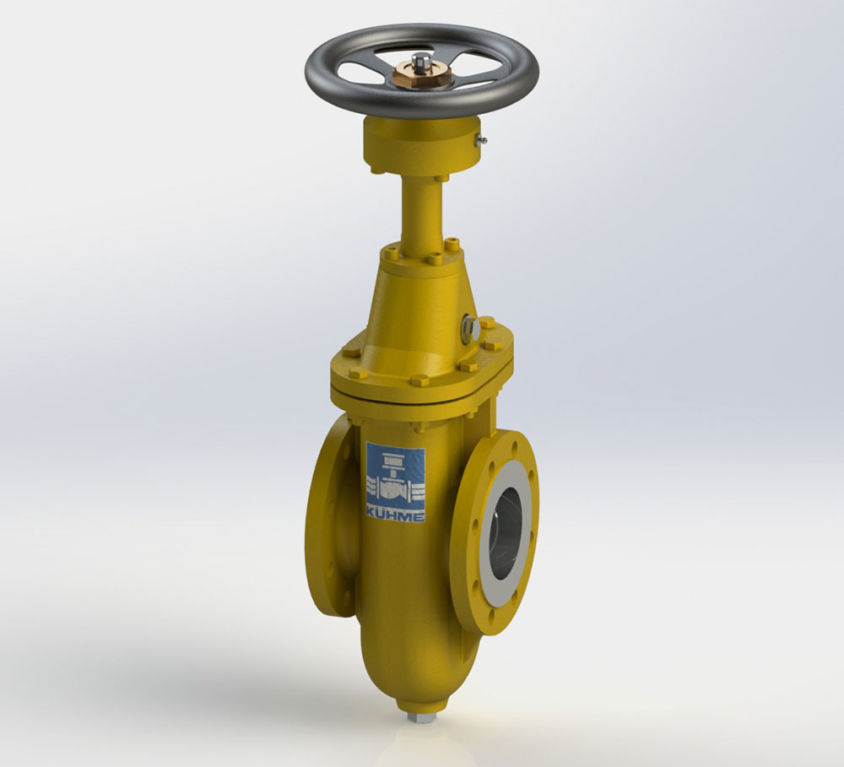 SINGLE-PLATE GATE VALVE TYPE PSA-DELI GAL
