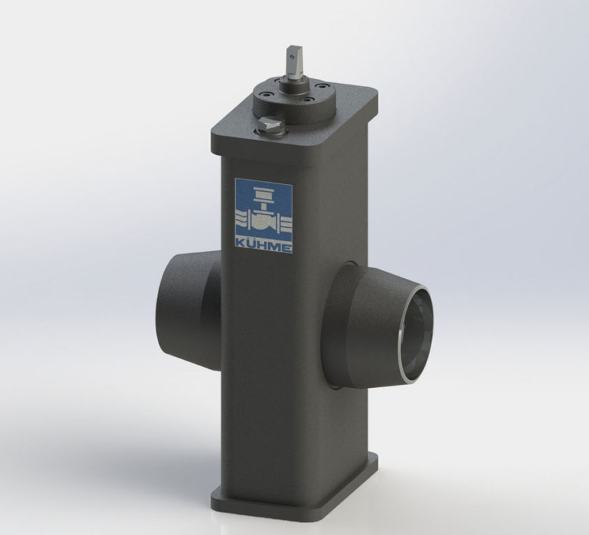 SINGLE-PLATE GATE VALVE TYPE PSA-DELI SIL-S