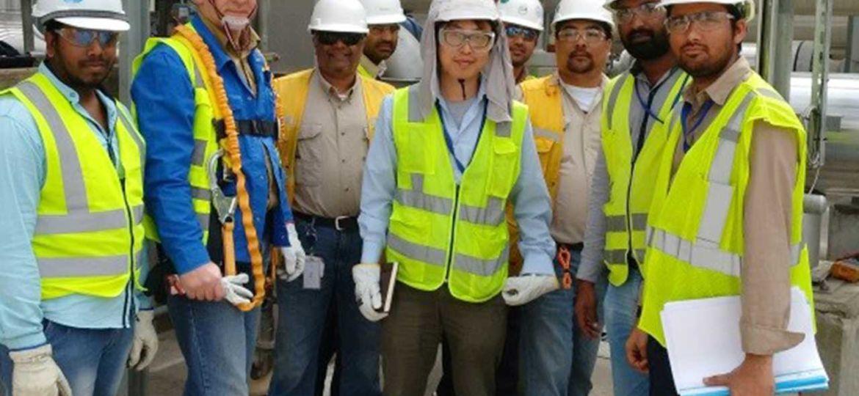 Kuehme-Armaturen-GmbH-Bochum-Anlagenpersonal-in-Saudi-Arabien