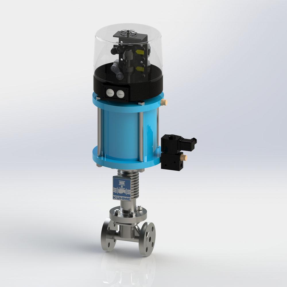 automatische Schnellschlussventil für flüssige Medien KVF