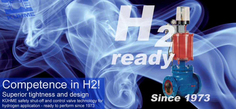 Hydrogen, H2-ready