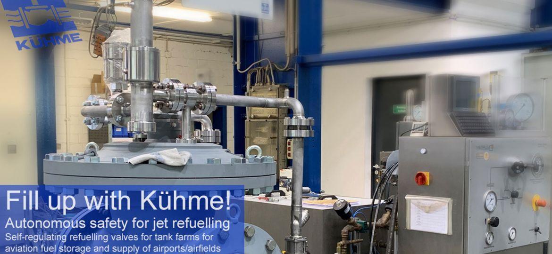 Kuehme-Armaturen-GmbH-Bochum-jet-refuelling