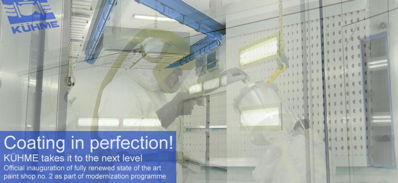 Kuehme-Armaturen-GmbH-Bochum-upgrading-of-coating-facilities